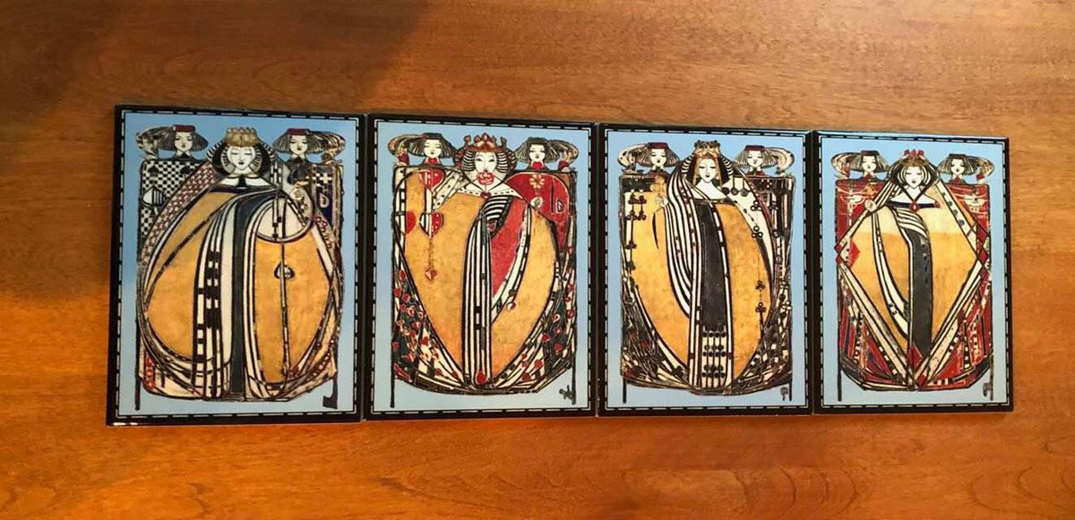 Four Queens, Victorian Blue