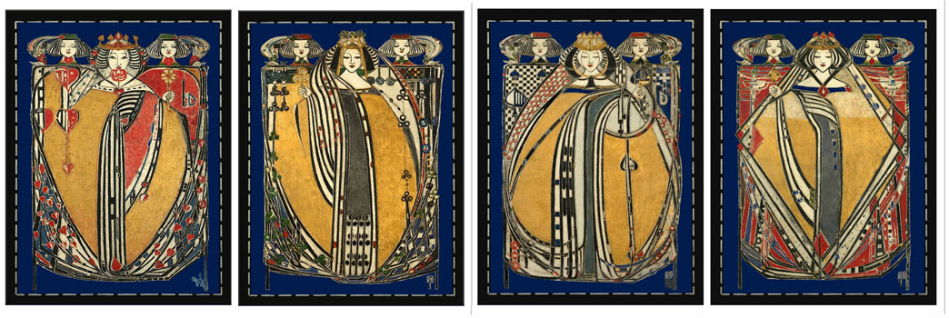 Margaret Macdonald Mackintosh, The Four Queens