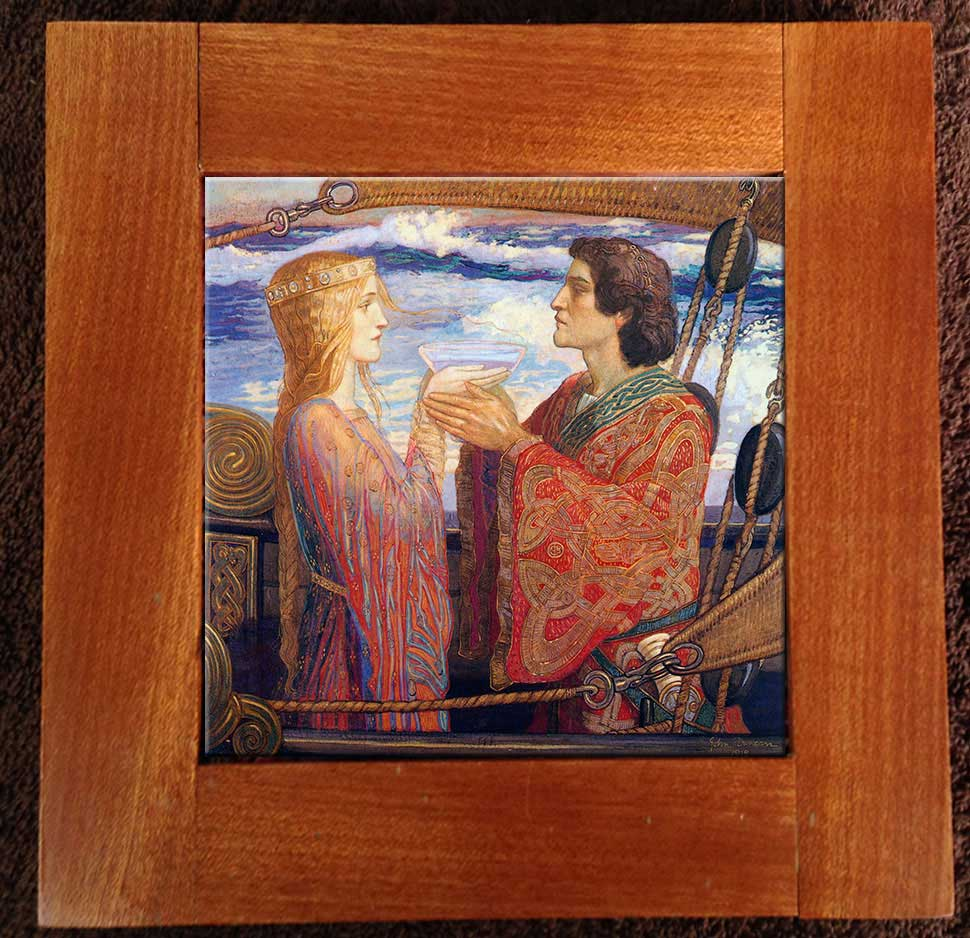 Tristan and Isolde single tile