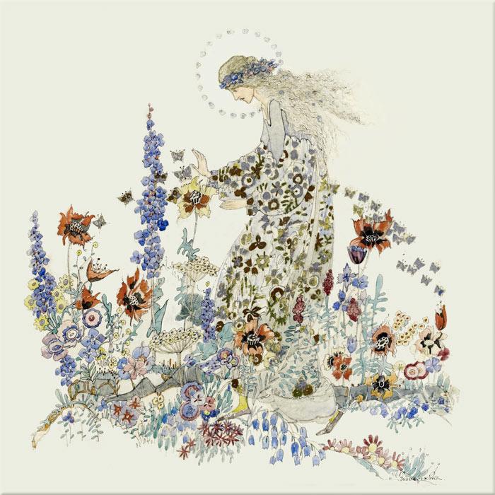 Jessie M. King: Beauty in Beast's Garden