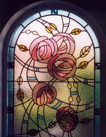 Charles Rennie Mackintosh window