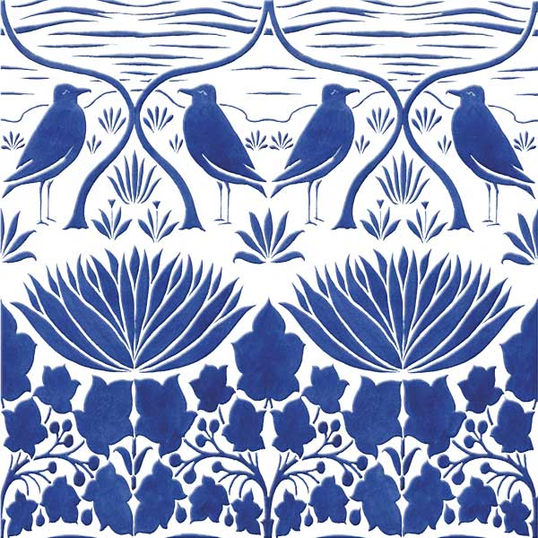 CFA Voysey bluebirds