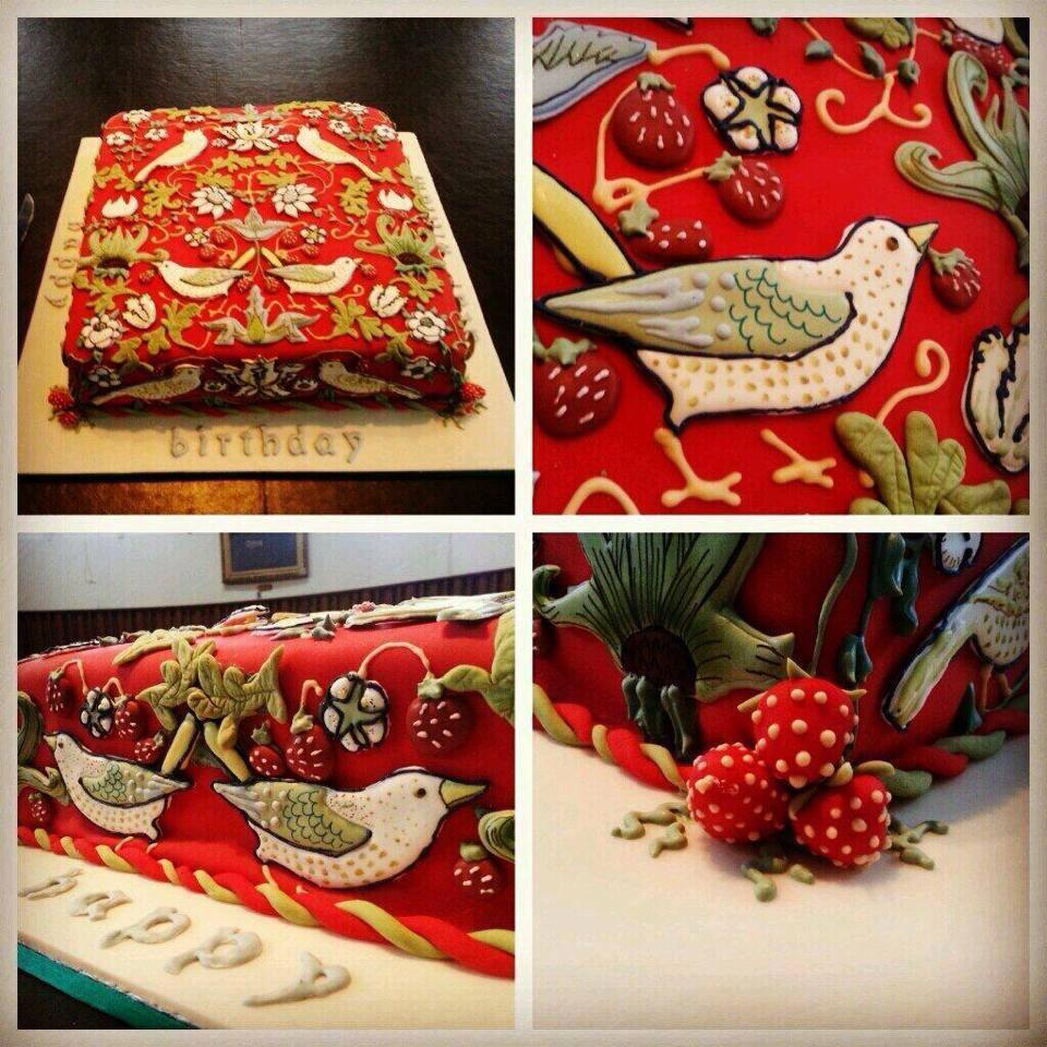 William Morris Birthday Cakes
