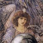 Edward Burne-Jones, Days of Creation Angels, First Angel