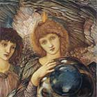 Edward Burne-Jones, Days of Creation Angels, Second Angel