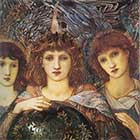 Edward Burne-Jones, Days of Creation Angels, Third Angel