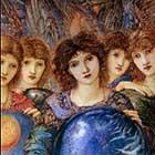 Edward Burne-Jones, Days of Creation Angels, Fifth Angel