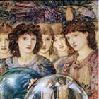 Edward Burne-Jones, Days of Creation Angels, Sixth Angel