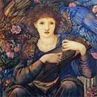 Edward Burne-Jones, Days of Creation Angels, Seventh Angel