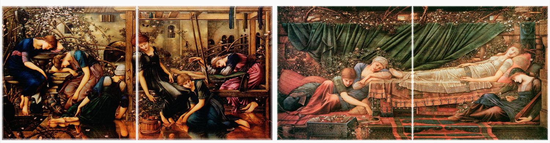 Edward Coley Burne-Jones, Briar Rose Panels