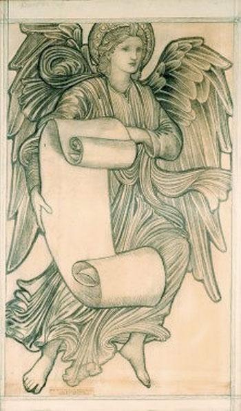 Edward Burne-Jones Angel