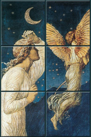 Walter Crane and Edward Burne-Jones: Cupid and Psyche, The Earthly Paradise frieze