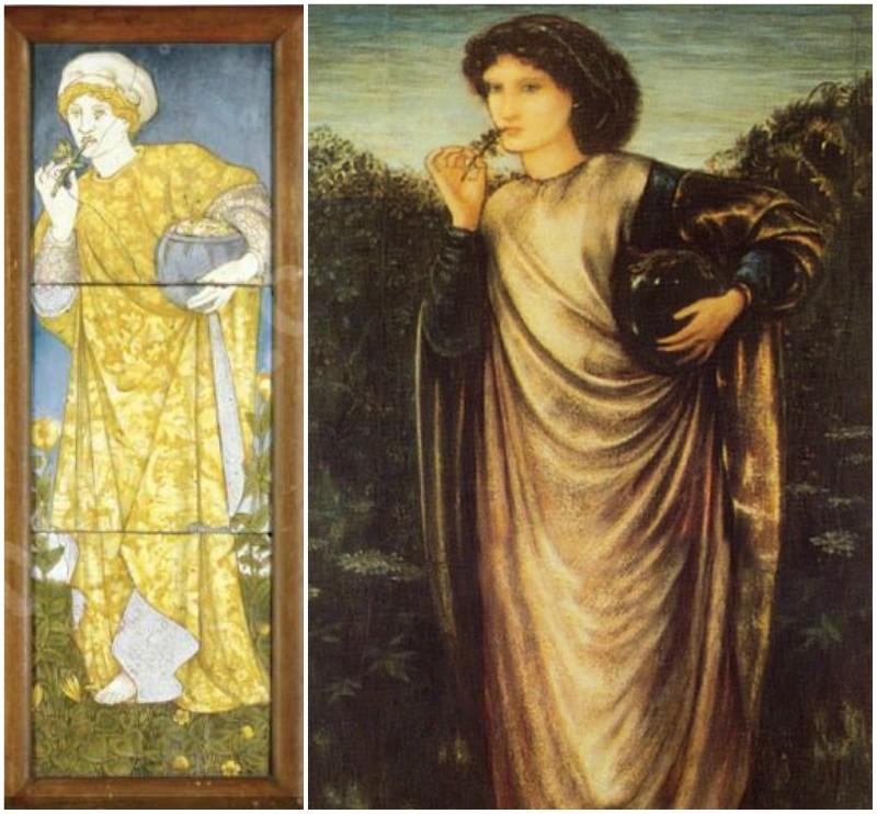 Edward Burne-Jones: Mediea, Morgan Le Fey