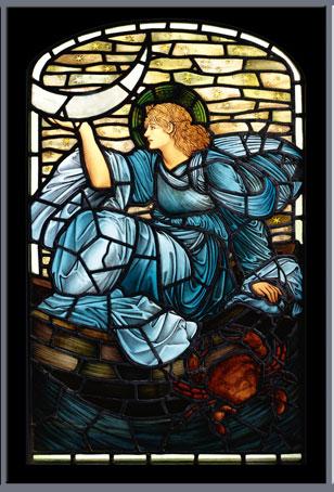 Luna, Edward Burne-Jones