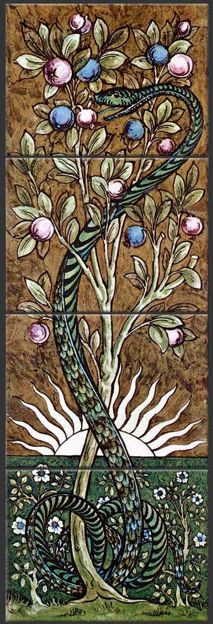Tree of Knowledge Tile Panel