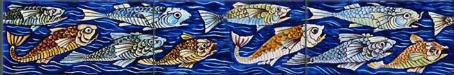 Angry Fish Border Tiles