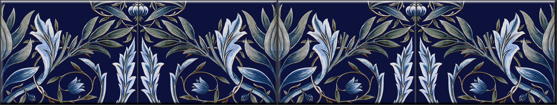 Membland border tiles, 8 x 6 inches