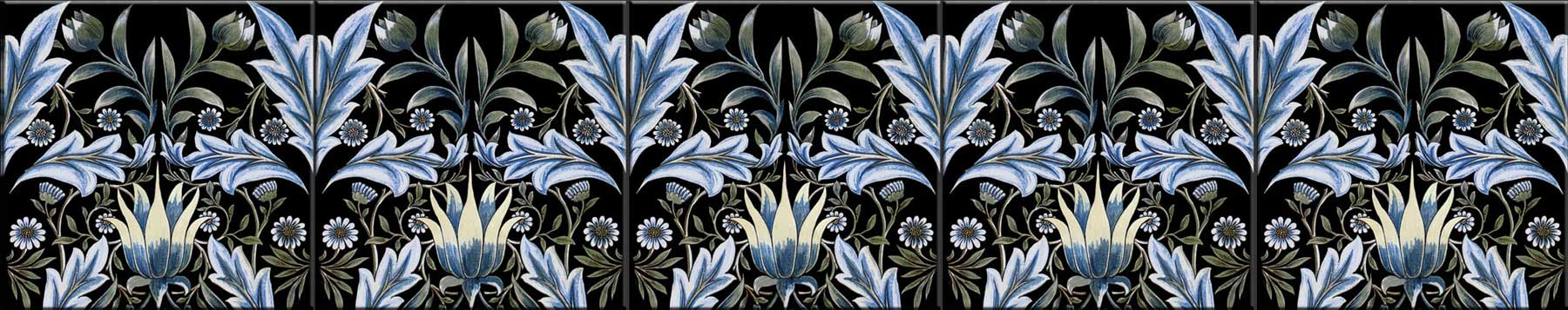 William Morris, Membland Tiles accent tile