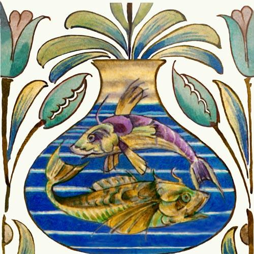 William De Morgan Fish Bowls