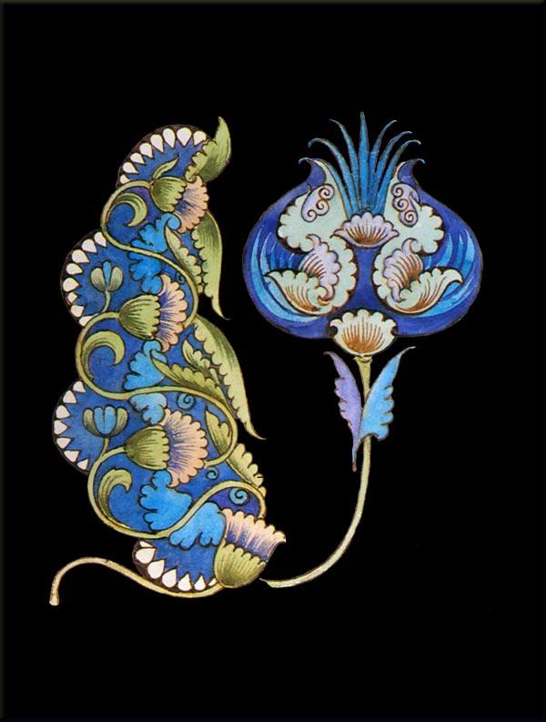 William De Morgan Water Lily and Lotus.