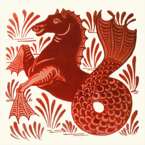 William De Morgan hippocampus