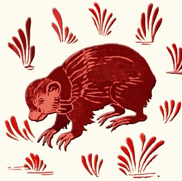 Lewis Carroll fireplace Marmot