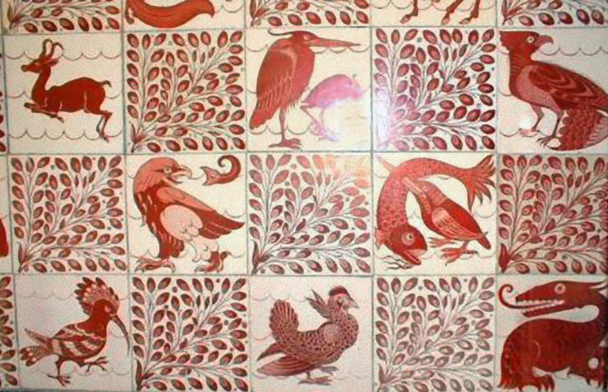 De Morgan Birds and Beasts at Debenham House