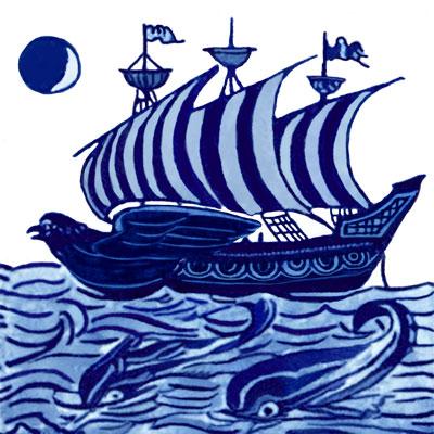 William De Morgan Ships