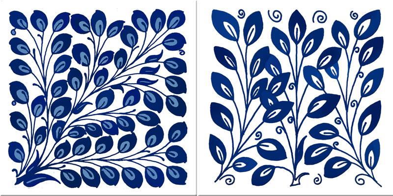 William Morris, William De Morgan Early Blue Longden