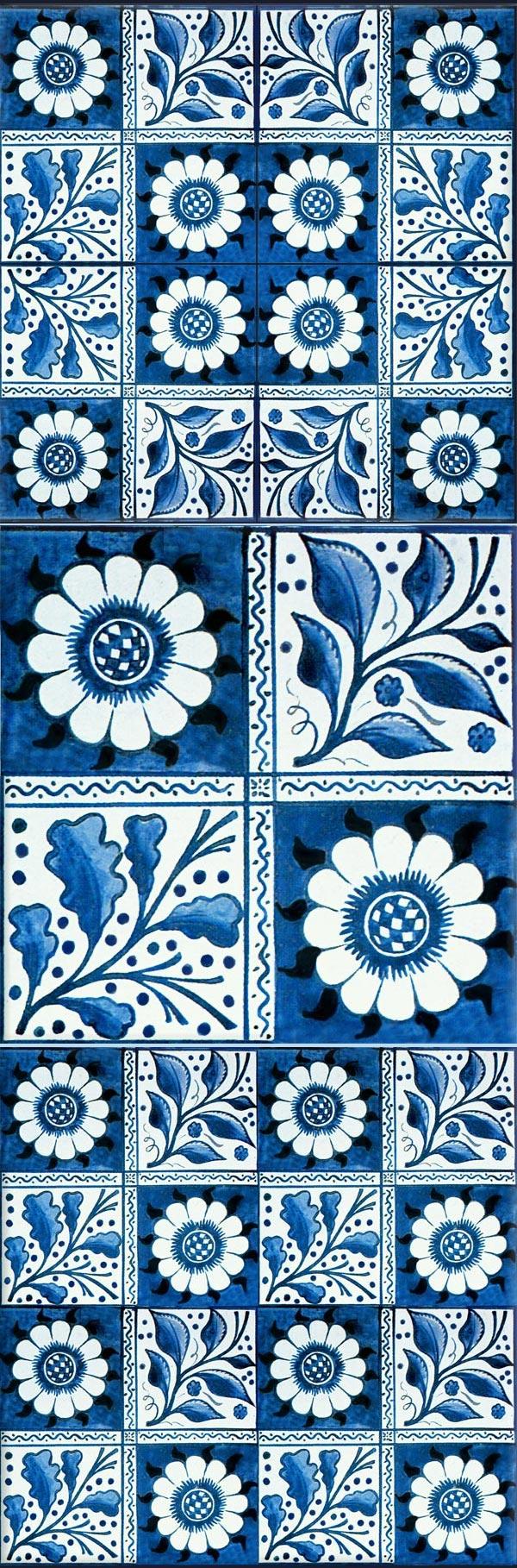 William Morris and Philip Webb Longden tiles, 1870s.