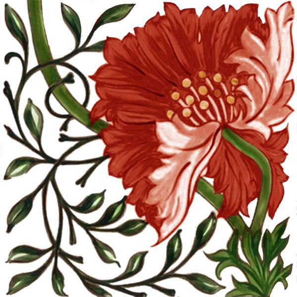 William Morris Poppy
