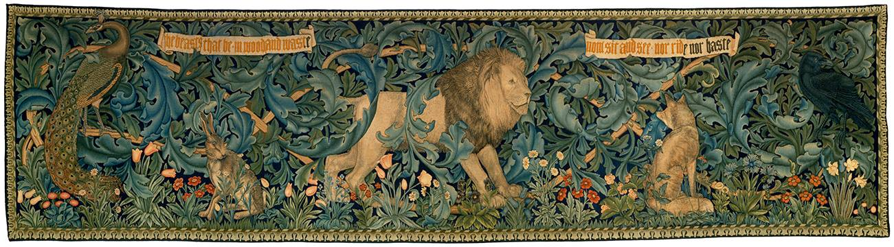 William Morris, 					The Forest Tapestry