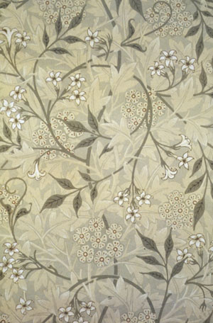 William Morris: Jasmine wallpaper
