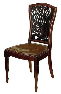 Arthur Heygate Mackmurdo chair, 1882