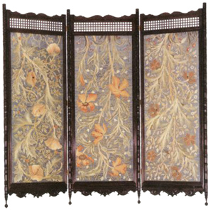 May Morris embroidered screen