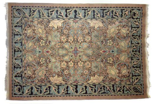 William Morris carpet: Redcar, 1881