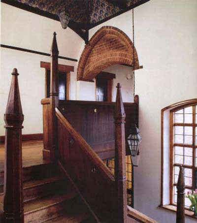 Turreted Staircase at Red House