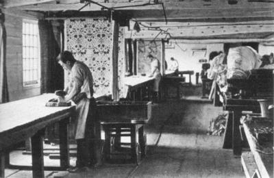 Merton Abbey - textile printing