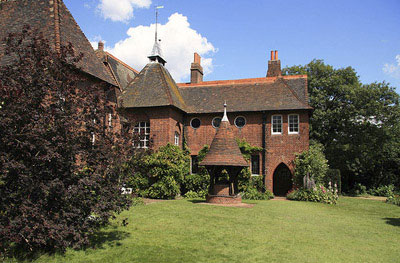 William Morris's first married home: Red House