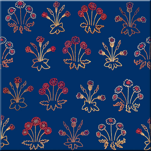Jane Morris Red House Daisy Tiles