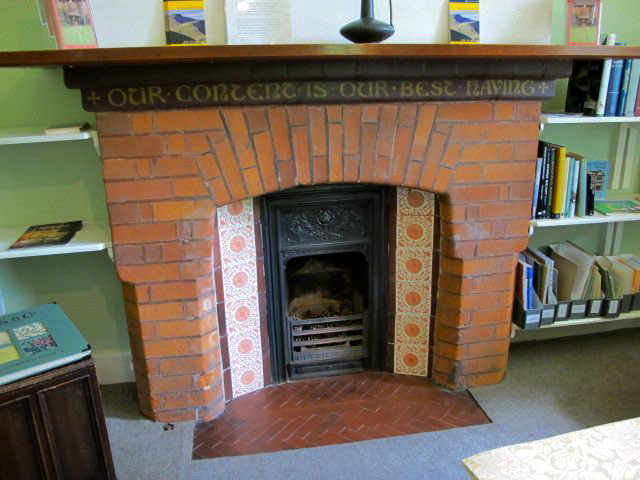 Victorian And Arts And Crafts Fireplaces William Morris