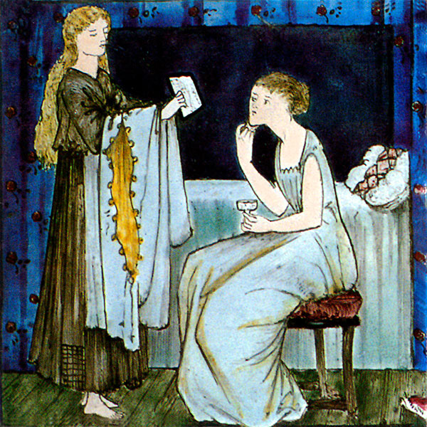 Burne-Jones Cinderella Tile