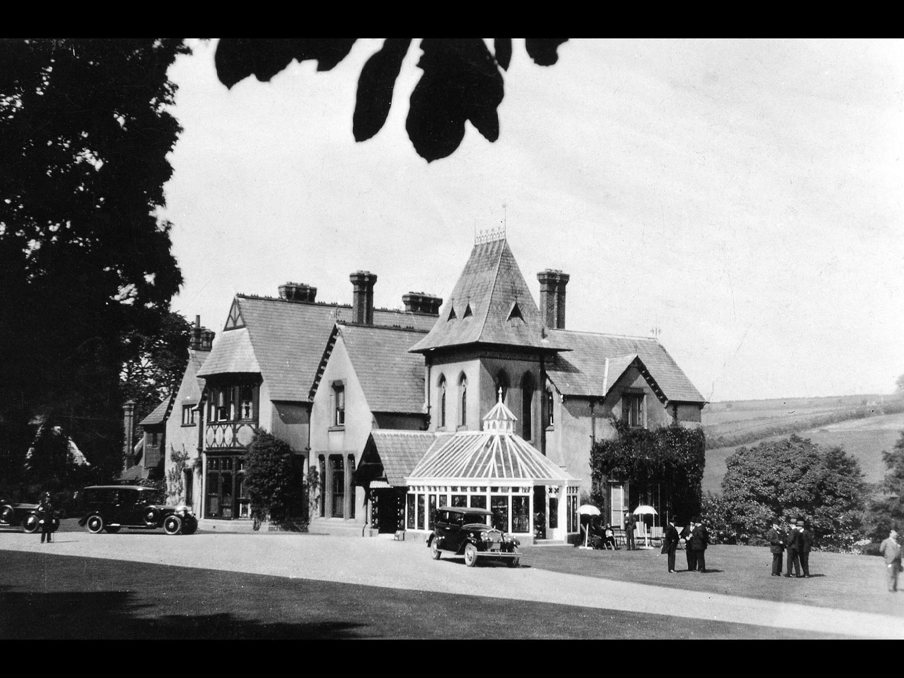 Cronkbourne House (Tromode House), early 1900s