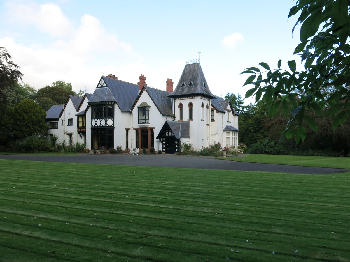 Cronkbourne House on the Isle of Man