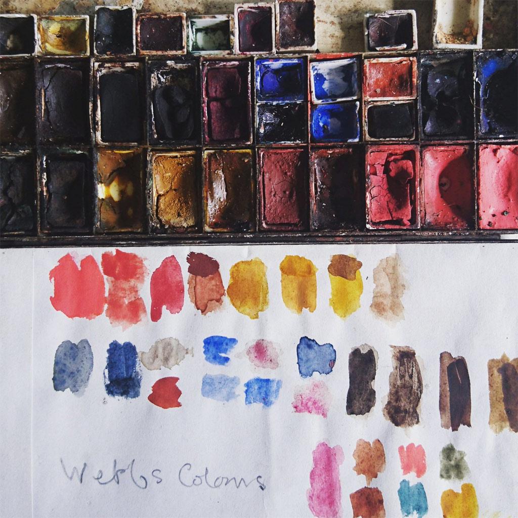 Philip Webb Color Palette