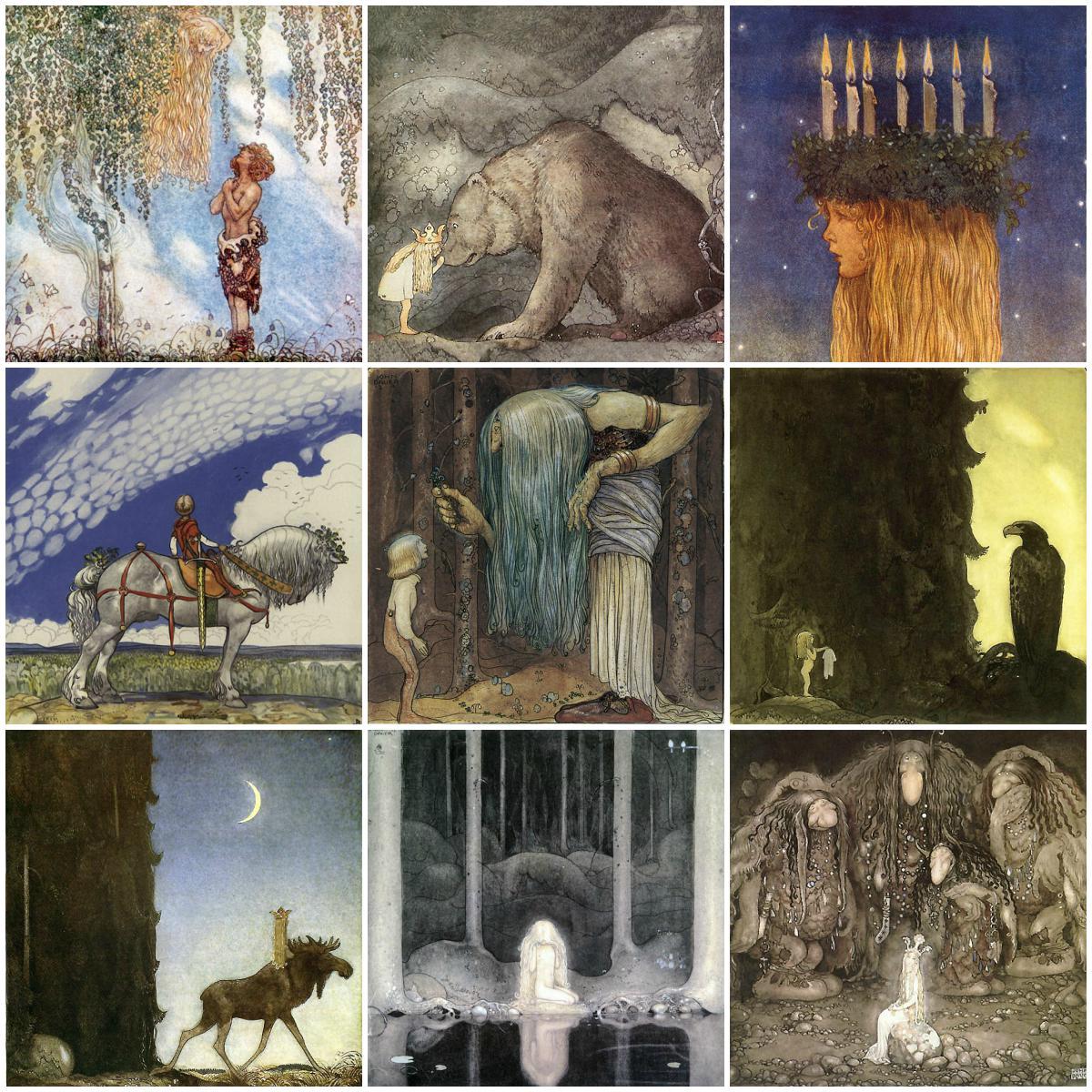 John Bauer Art Tiles