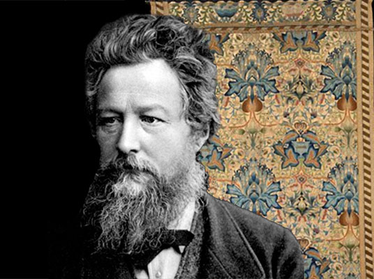 William Morris Artichoke design