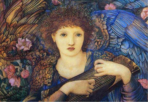 Edward Burne-Jones Days of Creation Angel