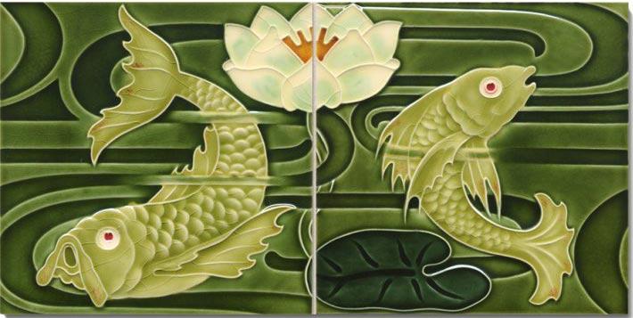 Golem Art Nouveau Fish