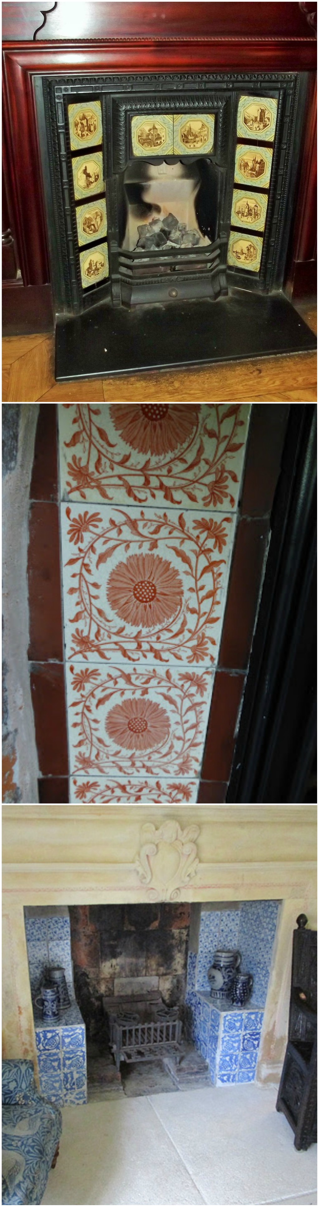 decorative arts victorian tile characteristics